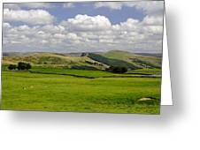Hope Valley From Winnats Head Greeting Card