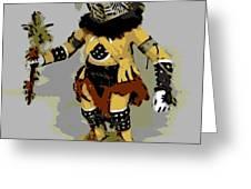Hopi Dancer Greeting Card