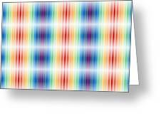Horizontal Lights Greeting Card