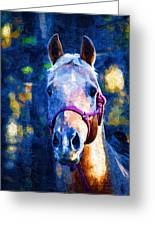Horse Beautiful Greeting Card
