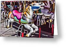 Horse Ride Greeting Card