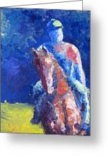 Horse Rider Greeting Card