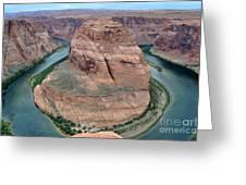 Horseshoe Bend Near Page - Arizona Greeting Card