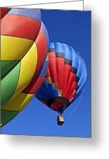 Hot Air Ballons Greeting Card