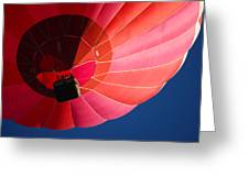 Hot Air Balloon 4 Greeting Card