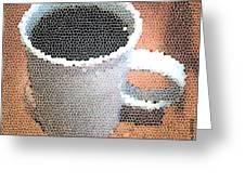 Hot Coffee 03 Greeting Card