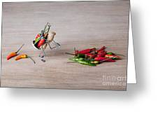 Hot Delivery 02 Greeting Card by Nailia Schwarz