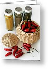 Hot Spice Greeting Card