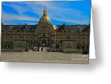 Hotel Des Invalides Greeting Card