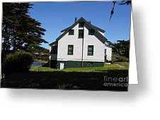 House At Point Reyes Calfornia . 7d16125 Greeting Card