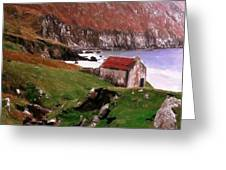 House At The Coast Greeting Card