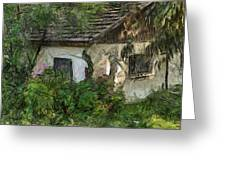House For Sale Greeting Card