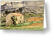 House In Provence Greeting Card