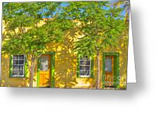 House In The Barrio Greeting Card