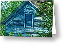 House In The Woods Art Greeting Card