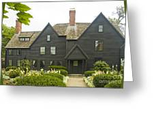 House Of 7 Gables Greeting Card