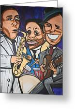 House Of Blues Greeting Card