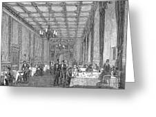 House Of Commons, 1854 Greeting Card