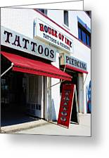 House Of Ink Greeting Card