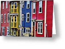 Houses St Johns Greeting Card