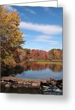 Howard's Lake Greeting Card