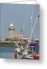Howth Lighthouse 0004 Greeting Card