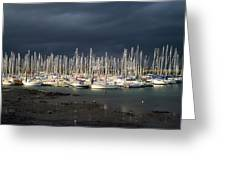 Howth Yacht Club Marina, Co Dublin Greeting Card