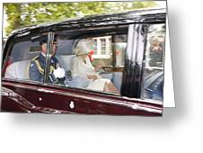 Hrh Prince Charles And Camilla Greeting Card
