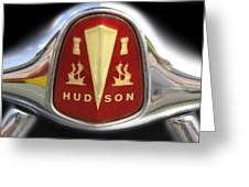 Hudson Grill Ornament  Greeting Card