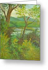 Hudson Highlands View Greeting Card