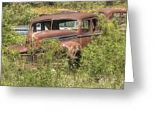 Hudson Sedan Greeting Card