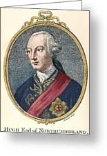 Hugh Percy (1742-1817) Greeting Card