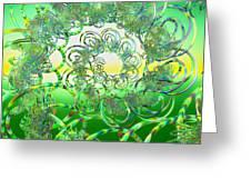 Hula Greeting Card
