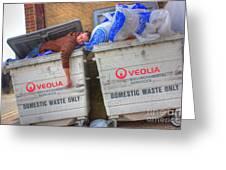 Human Waste  Greeting Card