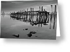 Humboldt Bay Ruins Greeting Card