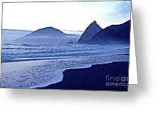 Humbug Mountain In Twilight Greeting Card by Sean Griffin