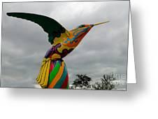 Hummingbird Art IIi Greeting Card
