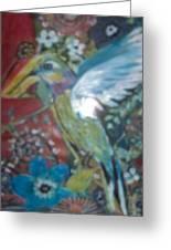 Hummingbird Fantasy Greeting Card