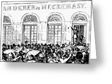 Hungarian Home Rule, 1848 Greeting Card by Granger