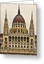Hungarian Parliment Building Greeting Card