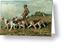 Hunting Exercise Greeting Card