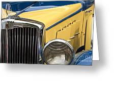 Hupmobile Grille Greeting Card