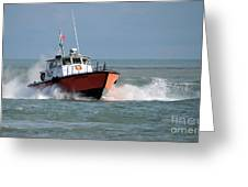 Huron Belle Pilot Boat Greeting Card