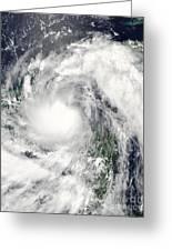 Hurricane Alex Greeting Card