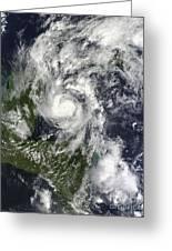 Hurricane Paula Greeting Card