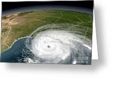 Hurricane Rita Greeting Card