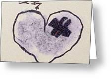 Hurting Heart Greeting Card