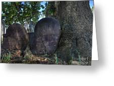 Husband And Wife Together Forever - Belleville Dutch Reformed Church - Husband And Wife Grave Greeting Card