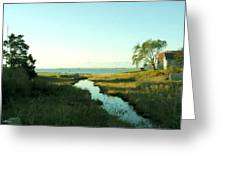 Hyannis Morn Greeting Card
