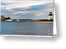 Hyannisport At Sunset Greeting Card